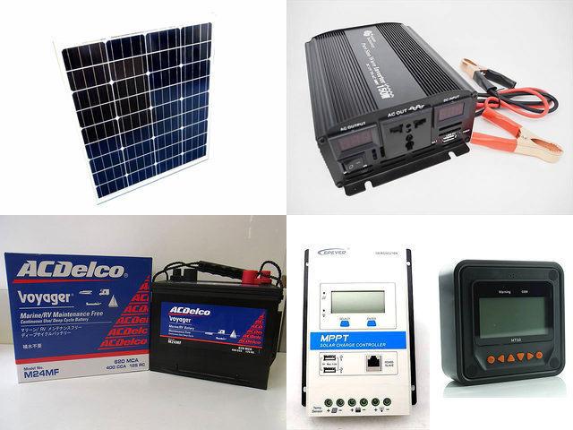 80W 太陽光発電システム YB3150 TRIRON2210N-DS1-UCS+MT50の写真です。