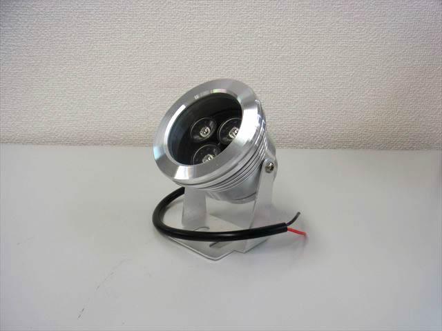 12V専用 3W 防水LEDライト ※Warm Whiteの写真です。