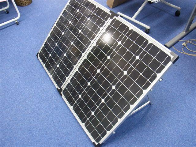 折り畳み式 ソーラーパネル 50W×2(キャリーバッグ付き)