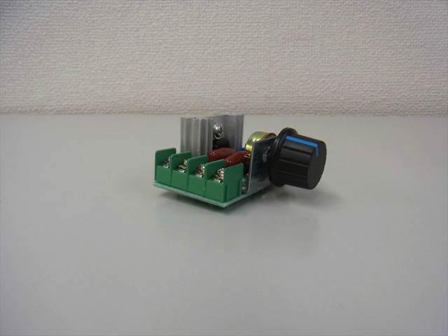 モータースピードコントローラースイッチ(AC50V〜220V)の写真です。