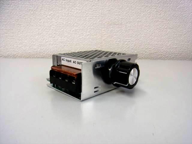 モータースピードコントローラースイッチ(AC10V〜220V)の写真です。