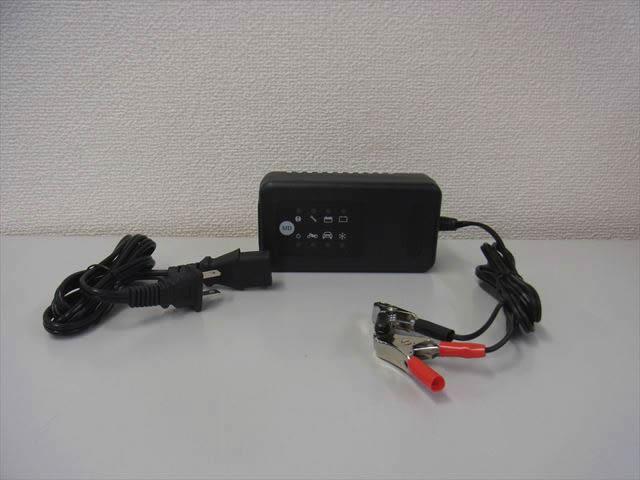 12V専用 バッテリー充電器 RA5015Rの写真です。