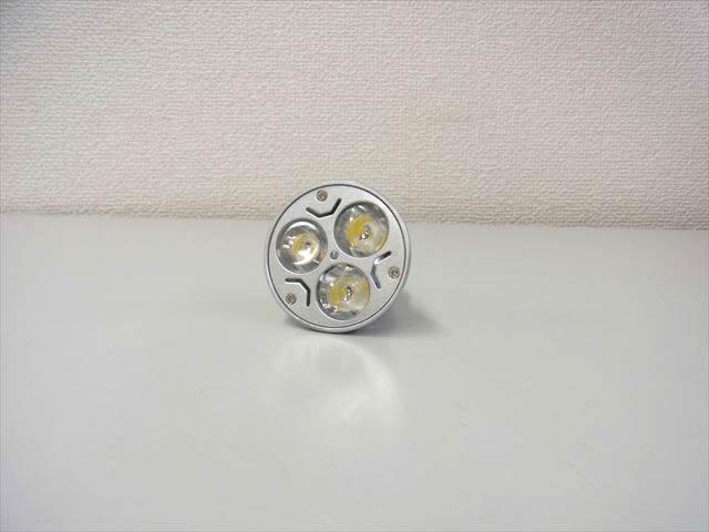3W LEDスポットライト(AC85〜265V)※GU10ソケットの写真です。