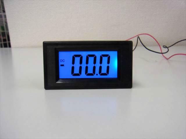 デジタル電流計パネルメーター(DC 0〜+/-200mA)※シャント抵抗不要の写真です。