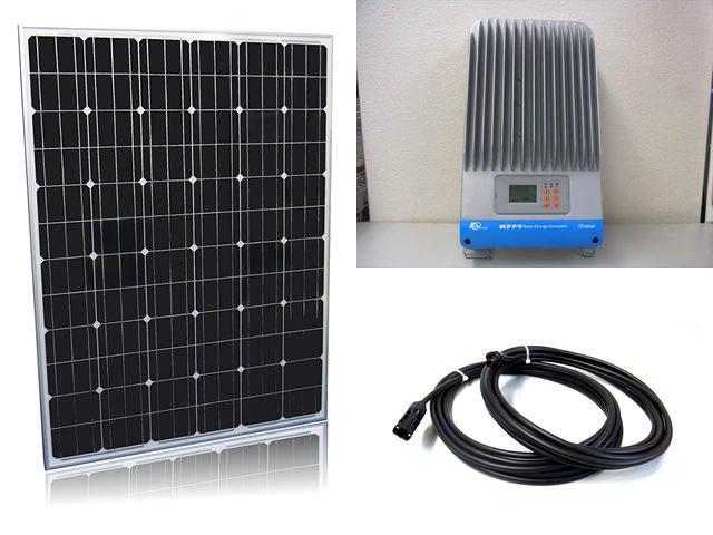 ソーラーパネル200W×16枚(3,200W)+iTracer IT6415NDの写真です。