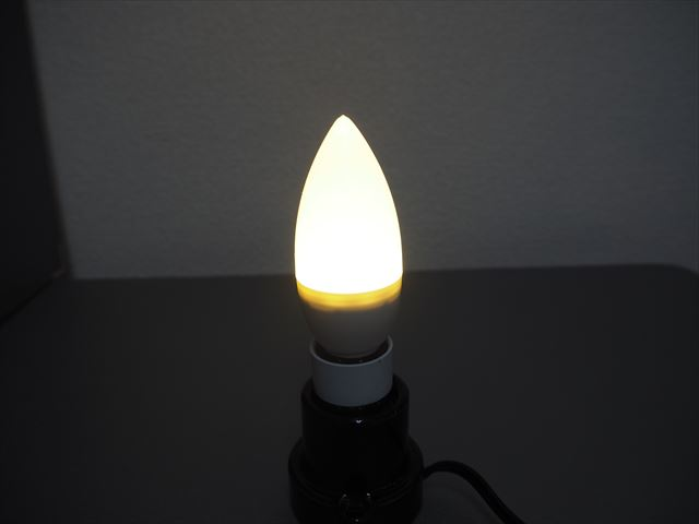AC100V用 LEDキャンドルライト 5W(E14) ※Warm Whiteの写真です。