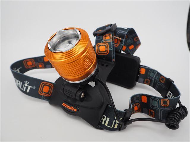 CREE XM-L T6 LEDヘッドライト(2300LM) RJ-2800の写真です。
