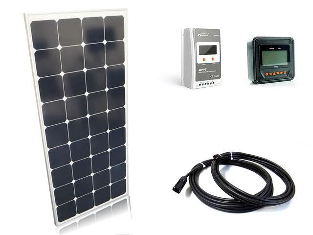 ソーラーパネル120W+Tracer2210A(20A)+MT50