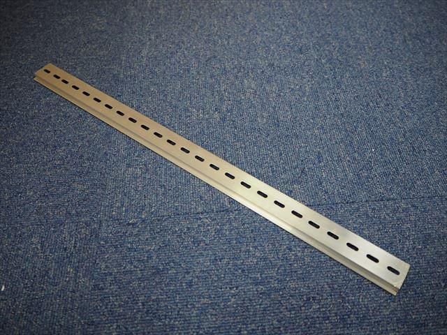 DINレール(アルミタイプ) 50cm ※取付穴4×12mm × 10本の写真です。
