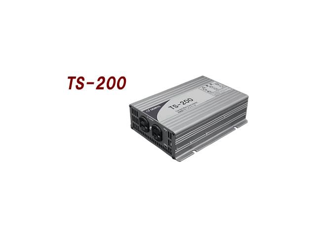 正弦波インバーター DENRYO TS-200-112Aの写真です。
