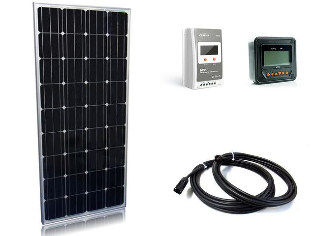 ソーラーパネル160W×3枚(480Wシステム)+Tracer4210A+MT50