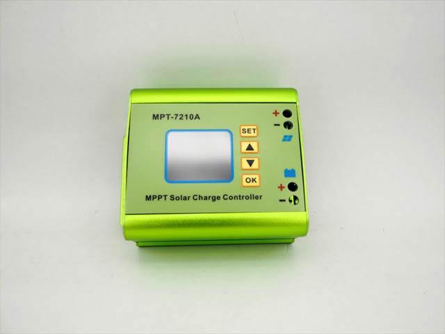 MPPTチャージコントローラー MPT-7210A ※DC-DCブーストチャージャー機能付きの写真です。