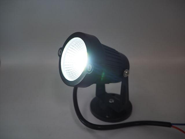 12V専用 3W 防水LEDスポットライト(300LM) ※Whiteの写真です。
