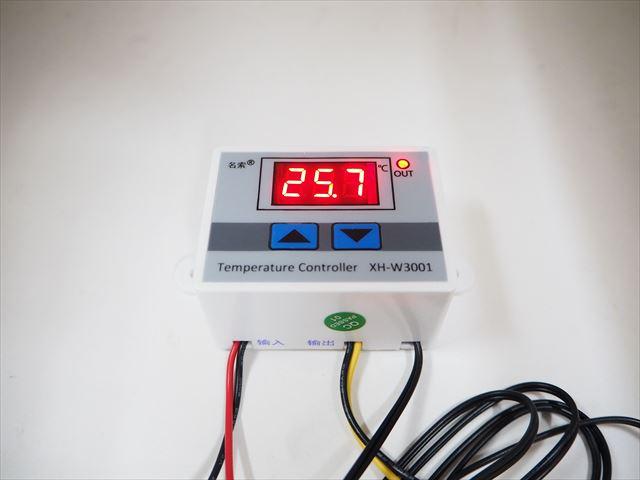 DC12V専用 デジタル温度計 サーモスタットコントロールリレースイッチ(10A) XH-W3001の写真です。