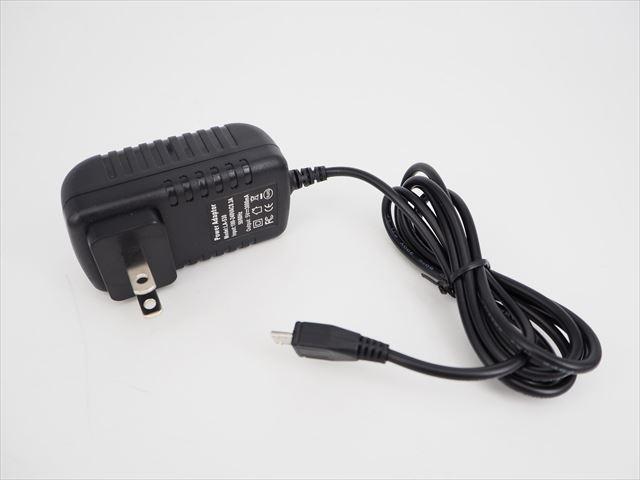 AC100V〜240V用 AC/DCアダプター LA-530(5V:3A) ※Micro USB出力の写真です。