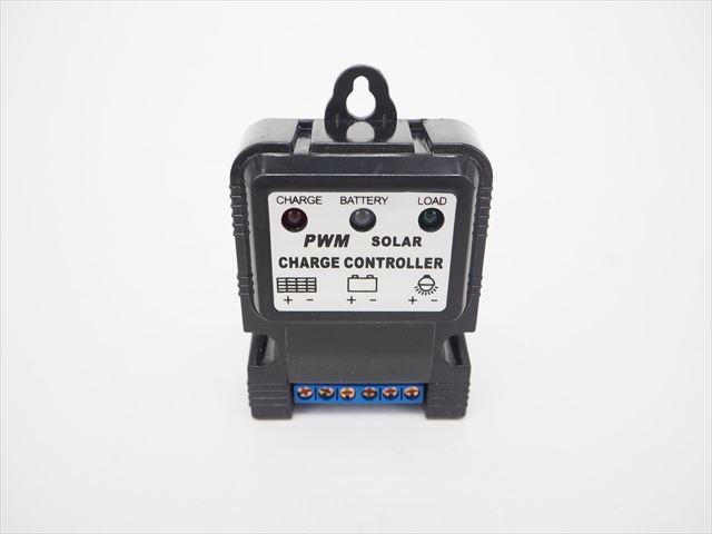 PWMチャージコントローラー CTK5S(10A) ※6V/12V専用の写真です。