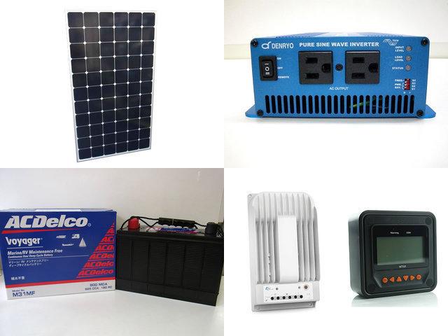 210W×2枚 420W 太陽光発電システム(24V仕様) SK700 Tracer-3215BN+ MT50