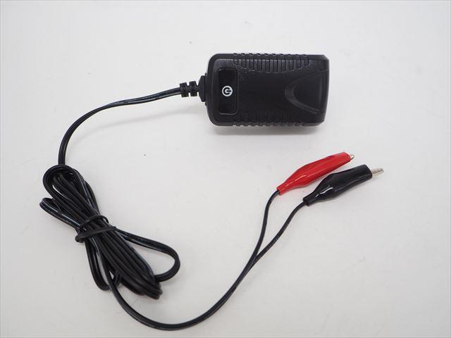 6V専用 バッテリー充電器 D17729(500mA)の写真です。