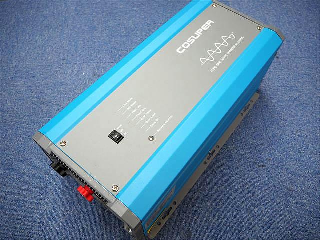 転送スイッチ付き充電器内蔵正弦波インバーター CPT2000-148 Ver.1(48V)の写真です。