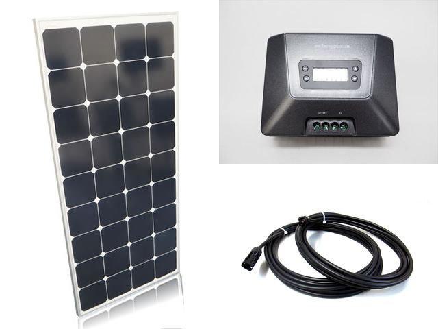 ソーラーパネル120W×6枚(720Wシステム:24V仕様)+Fangpusun MPPT100/30D(30A)の写真です。
