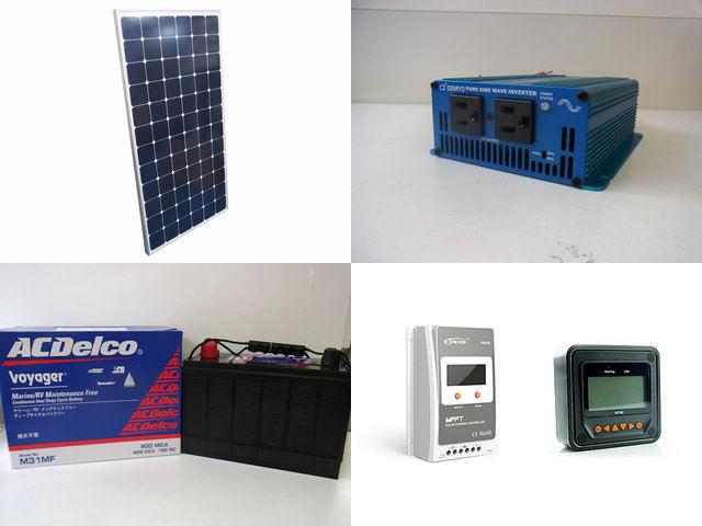 210W 太陽光発電システム (24V仕様) SK200 Tracer3210A+MT50の写真です。