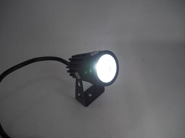 12V専用 3W 防水LEDガーデンスポットライト 300LM ※Cold Whiteの写真です。