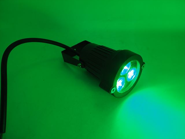 12V専用 9W 防水ガーデンLEDライト 600LM ※Greenの写真です。