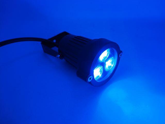 12V専用 9W 防水ガーデンLEDライト 600LM ※Blueの写真です。
