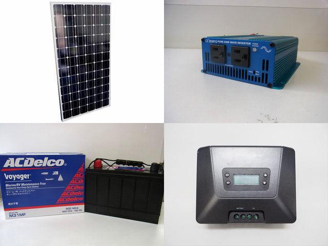200W 太陽光発電システム(12V仕様) SK200 MPPT100/50Dの写真です。