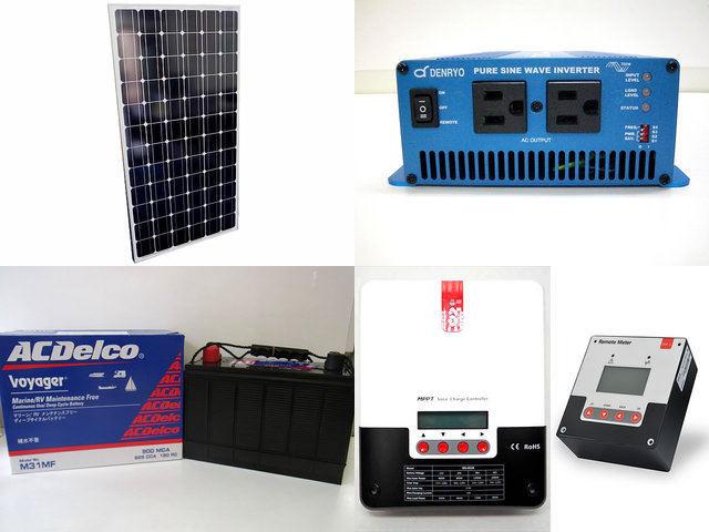 200W×3枚(600W) 太陽光発電システム(48V仕様) SK700 SR-ML4830+SR-RM-5