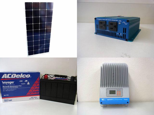 160W 太陽光発電システム SK200 IT4415NDの写真です。