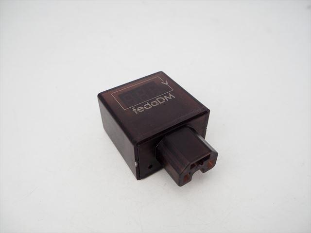 電気自動車用 DC-DCコンバーター/ステップダウンコンバーター(DC30V〜200V→DC5V:2.4A)※バッテリーメーター&USB出力付の写真です。