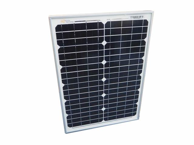 ソーラーパネル 20W 単結晶 AT-MA20A ※JAsolar(訳あり)の写真です。