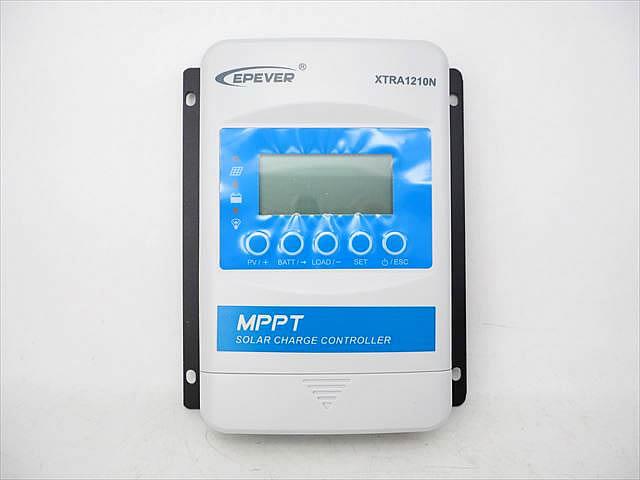 MPPTチャージコントローラー XTRA1210N-XDS2(10A)の写真です。