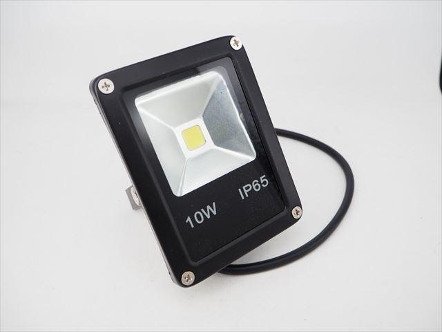 DC12V専用 10W 防水LEDライト 100LM ※Cold Whiteの写真です。