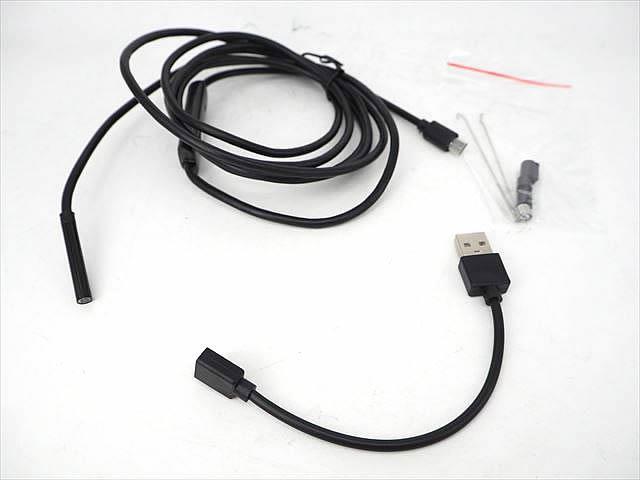 Android&PC用 防水USBエンドスコープカメラ 5.5mm ※2m(ハードケーブル)の写真です。