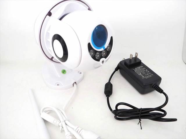 スマートフォン用 防水 Wifiホームセキュリティカメラ FREDI PTZ Cameraの写真です。