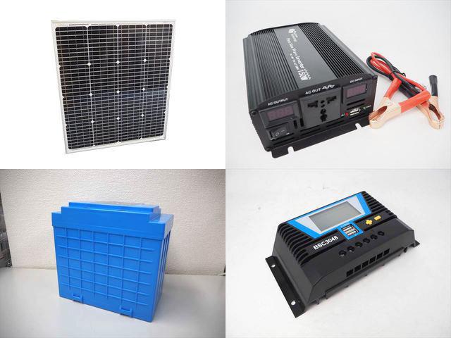 75W(66.5V) 太陽光発電システム(48V仕様) YB3150 BSC3048の写真です。