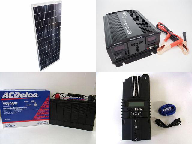 100W×10枚(1,000W)太陽光発電システム(48V仕様) YB3600 Classic200-SLの写真です。