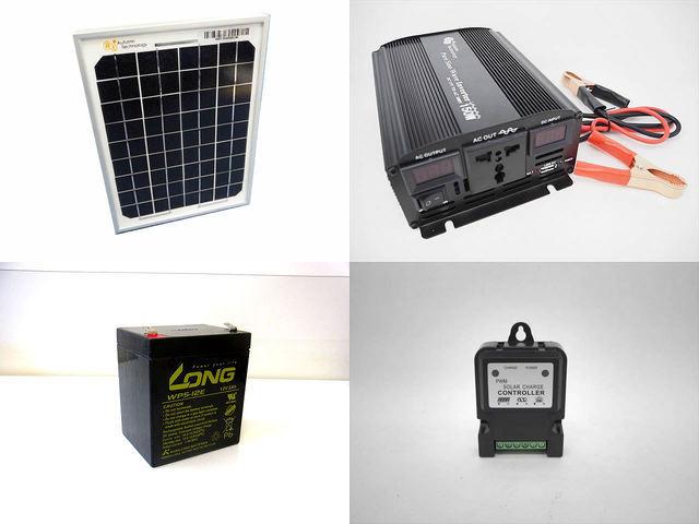 5W 太陽光発電システム YB3150 CTK3S(3A)の写真です。