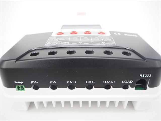 MPPTチャージコントローラー SR-ML2440(40A)+リモートメーター SR-RM-5 商品写真