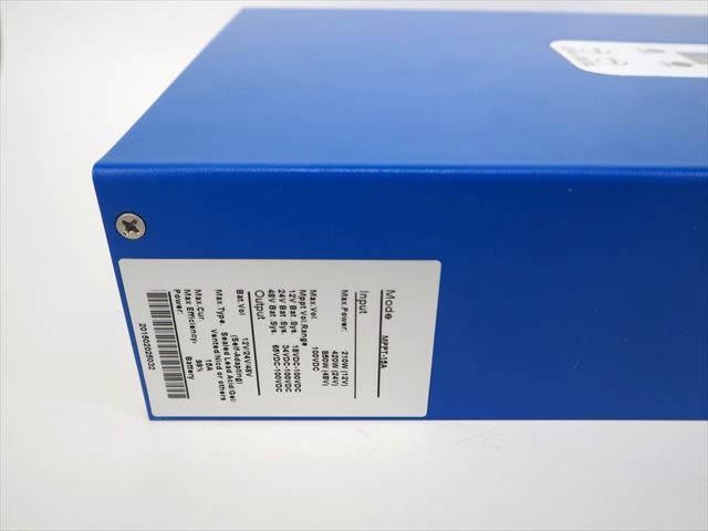 MPPTチャージコントローラー eSmart MPPT-15A ※青 商品写真