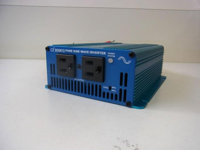 正弦波インバーター DENRYO  SK120-112の写真です。