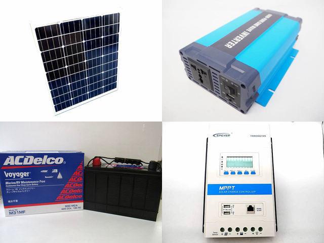 80W×3枚 (240W) 太陽光発電システム HL-600P TRIRON4210N-DS2-UCS(40A)の写真です。