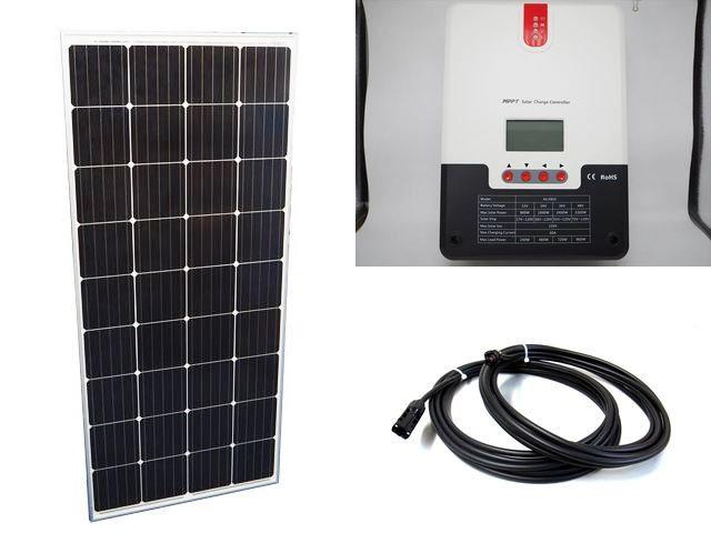 ソーラーパネル160W×20枚 (3,200W:48V仕様)+ML4860N15(60A)の写真です。