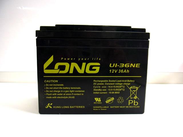 LONG 12V36Ah ディープサイクルバッテリー(U1-36NE)
