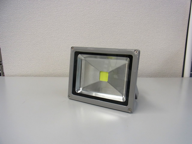 20W 防水LEDライト(AC85〜265V)※Cold whiteの写真です。