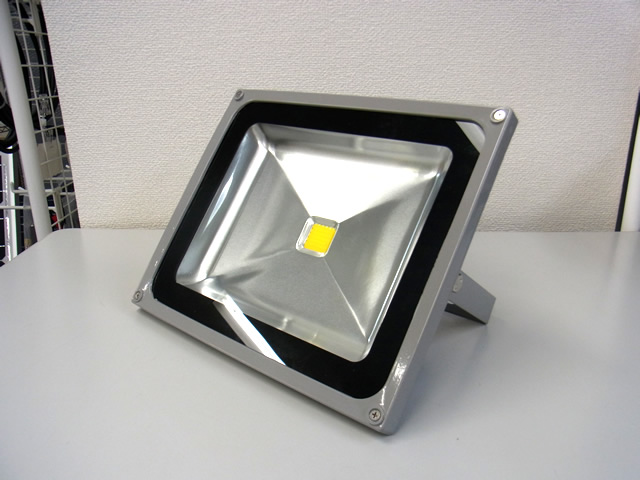 50W 防水LEDライト (AC85〜265V)※Warm Whiteの写真です。