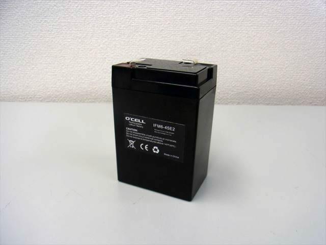 リン酸鉄リチウムイオンバッテリー 6V4.5Ah lifepo4(O'cell)の写真です。