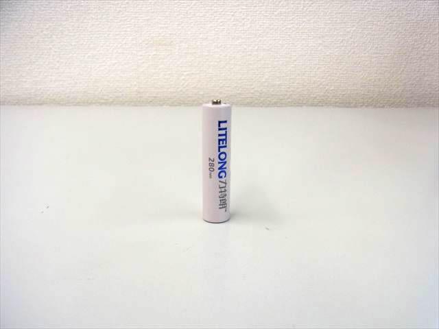 リン酸鉄リチウムイオン電池(lifepo4) 10440 3.2V 280mAhの写真です。